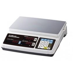 Elektronische rekenweegschaal geijkt tot 15 kilo