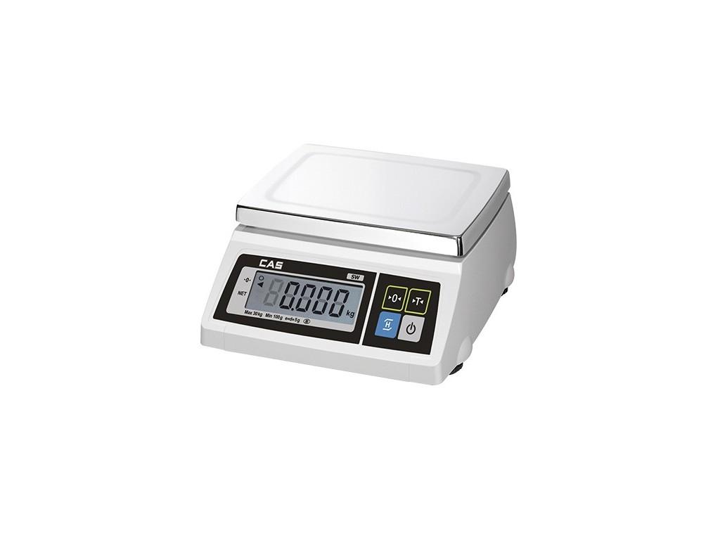 CAS Elektronische weegschaal Batterij Max 15/30 kg
