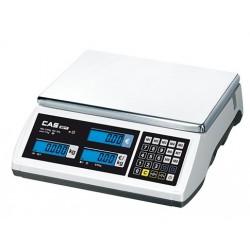 CAS Electronische rekenweegschaal geijkt